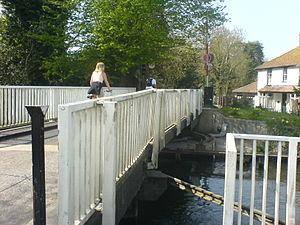 Sheffield Lock - Nearby Theale Swing Bridge