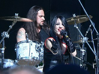 Gothic metal - The Italian gothic black metal band Theatres des Vampires manifests a deep interest in the vampire myth, a common staple of gothic horror fiction.