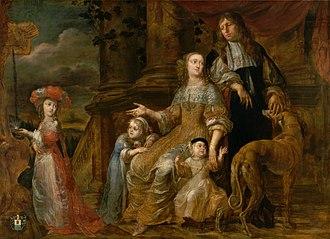 Theodoor Boeyermans - The de Bie family
