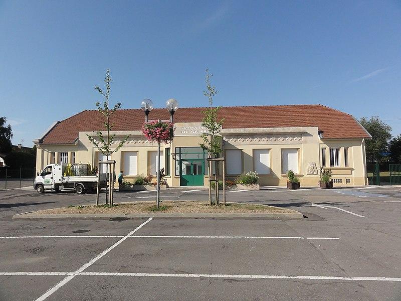 Thierville-sur-Meuse (Meuse) salle des fêtes