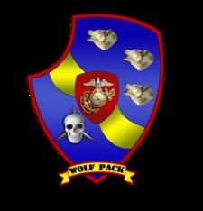Third Light Armored Reconnaissance Battalion Emblem, 2012