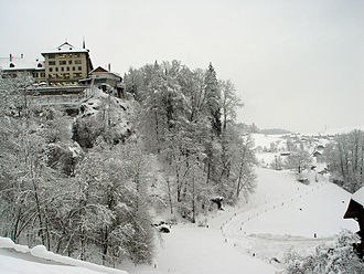 Krauchthal - Thorberg prison in winter