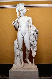 statue by Bertel Thorvaldsen