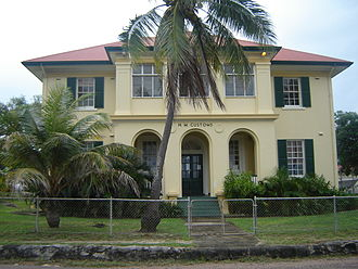 Thursday Island - Customs House on Thursday Island.