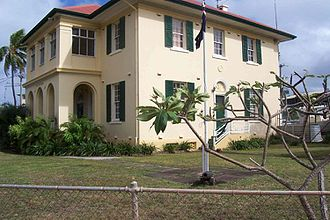 Side view of the Customs House Thursday Island Customs House.jpg