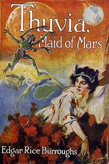 <i>Thuvia, Maid of Mars</i> book by Edgar Rice Burroughs