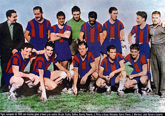 Club Atlético Tigre - the 1945 team that won the Primera B title, returning them to the Primera División