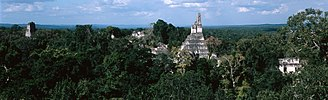 Jungle tourism - The Tikal in Guatemala