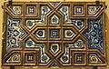 Tile panel, Iran, Khargid, 1444, underglaze-painted stonepaste - Royal Ontario Museum - DSC04784.JPG