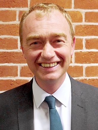 Liberal Democrats (UK) - Tim Farron, leader from 2015 to 2017