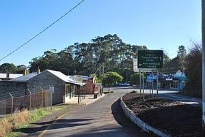 Timboon - Entering Timboon from the Port Campbell road