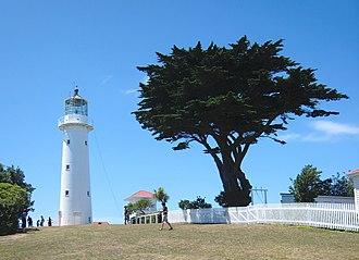 Tiritiri Matangi Island - Tiritiri Matangi Lighthouse and ranger station.