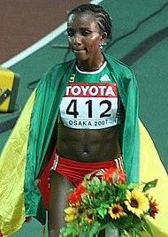 Genzebe Dibaba Olympics Rings