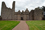 Tolquhon Castle, front and entrance.jpg
