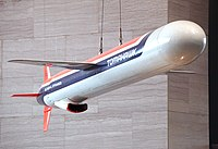 Tomahawk cruise missile - Smithsonian Air and Space Museum - 2012-05-15.jpg