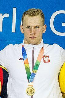 Tomasz Polewka Polish swimmer