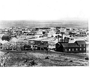 Tombstone in 1891.