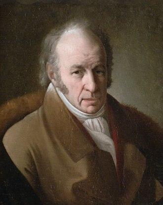 Giuseppe Bernardino Bison - Giuseppe Bernardino Bison; portrait by Giuseppe Tominz (1830)