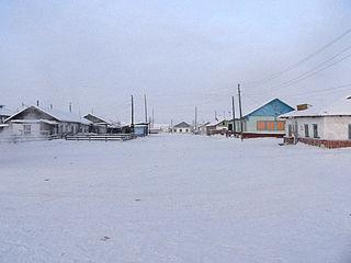 Tomtor, Oymyakonsky District, Sakha Republic Selo in Sakha Republic, Russia