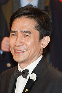 Tony Leung Chiu-wai Hong Kong film and television actor