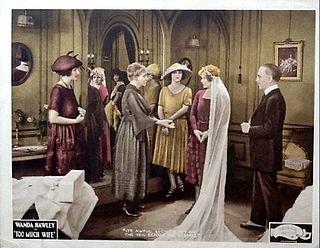 <i>Too Much Wife</i> 1922 film by Thomas N. Heffron