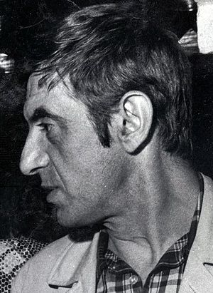 Tor Isedal - Isedal at the opening of a Stockholm disco, May 1970.