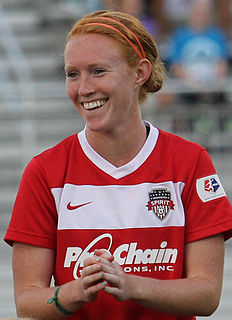 Tori Huster American professional soccer player