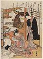 Torii Kiyonaga (c. 1778) Zashiki Hakkei - Nurioke no bosetsu.jpg