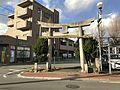 Torii of Kogarasu Shrine 20170202.jpg