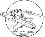 Torpedo Squadron 86 (United States Navy) insignia, 1945.png