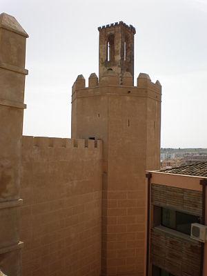 Alcazaba of Badajoz - Torre de Espantaperros.