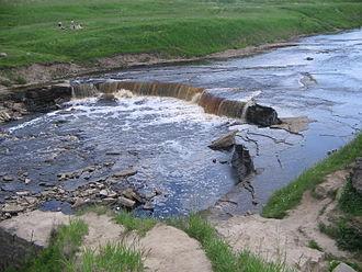 Tosna River - Tosna rapids