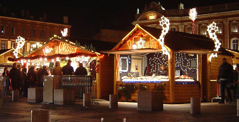 Christmas Market in Toulouse, France
