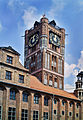 Tower of old town hall in Toruń, Poland.jpg