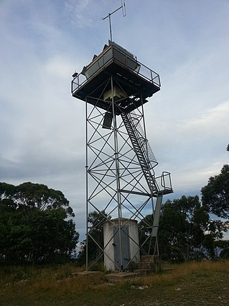 Mount Bindo - Image: Tower on the summit of Mount Bindo, NSW, Australia