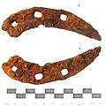 Towton 16b; probably medieval horseshoe (FindID 255679).jpg