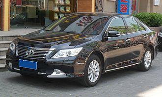 GAC Toyota - Image: Toyota Camry XV50 01 China 2012 04 28