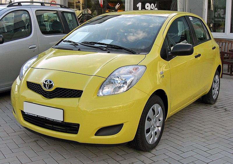 File:Toyota Yaris II Facelift Facelift 20090621 front.JPG