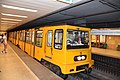 Train at Széchenyi fürdő metro station.jpg