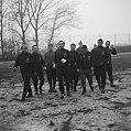Training Luxemburgs elftal in Olympisch Stadion Op voorgrond Pilot en keeper S, Bestanddeelnr 915-8616.jpg