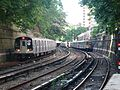Trains in the Parkside Station, Brooklyn, New York - panoramio.jpg
