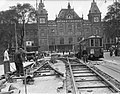 Tramwerkzaamheden bij het stationsplein, Bestanddeelnr 902-4143.jpg