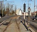 Travaux de la branche vers Vieux-Condé de la ligne B du tramway de Valenciennes en décembre 2013 (233).JPG