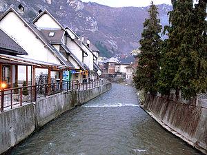Lašva (river) - The Lašva in Travnik