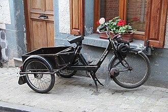 VéloSoleX - Black tricyclized 1967 VéloSolex.