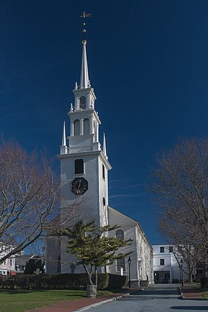 Trinity Church (Newport, Rhode Island) - Image: Trinity Church Newport RI 2006