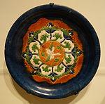 Tripod tray with flying goose, China, Tang dynasty, 8th century, sancai glazed earthenware - Cincinnati Art Museum - DSC03205.JPG