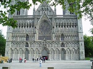 Trøndelag - Nidaros Cathedral in Trondheim
