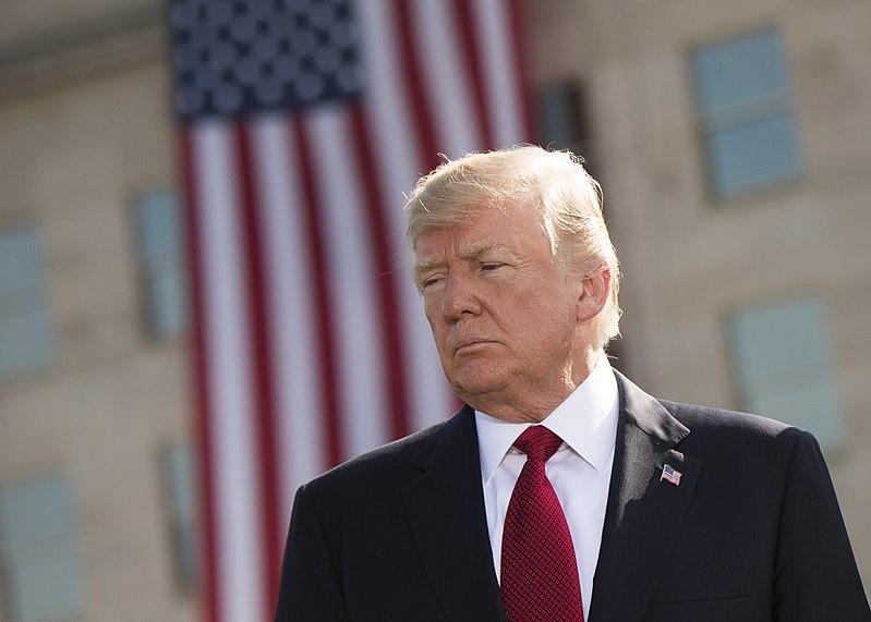 File:Trump, Pentagon leaders honor 9-11 victims (37027198861).jpg