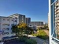 Tsukumodai international student dormitory View.jpg